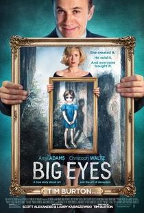 Grandes Olhos - Poster / Capa / Cartaz - Oficial 1
