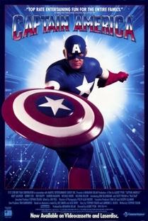 Capitão América: O Filme - Poster / Capa / Cartaz - Oficial 1