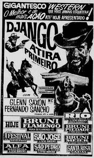 Django Atira Primeiro - Poster / Capa / Cartaz - Oficial 4