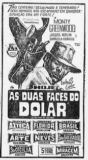 As Duas Faces do Dólar - Poster / Capa / Cartaz - Oficial 2