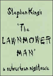 The Lawnmower Man - Poster / Capa / Cartaz - Oficial 1