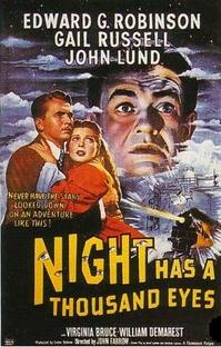 A Noite Tem Mil Olhos - Poster / Capa / Cartaz - Oficial 2
