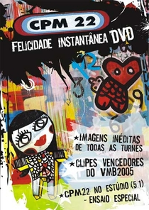 CPM 22 - Felicidade Instantânea - Poster / Capa / Cartaz - Oficial 1