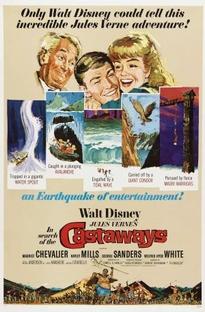 As Grandes Aventuras do Capitão Grant - Poster / Capa / Cartaz - Oficial 3