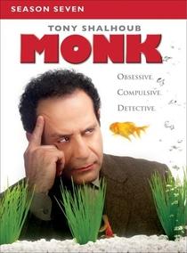 Monk: Um Detetive Diferente (7ª Temporada) - Poster / Capa / Cartaz - Oficial 1