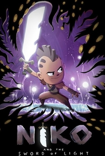 Niko and the Sword of Light - Poster / Capa / Cartaz - Oficial 1