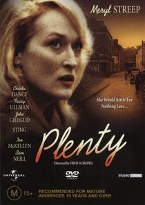 Plenty - O Mundo de Uma Mulher - Poster / Capa / Cartaz - Oficial 4