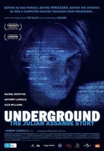 Underground:A História de Julian Assange - Poster / Capa / Cartaz - Oficial 1