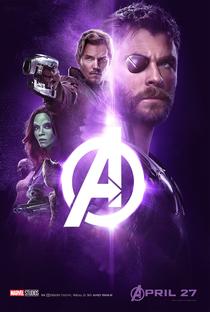 Vingadores: Guerra Infinita - Poster / Capa / Cartaz - Oficial 10