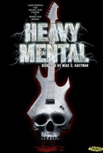Heavy Mental - A Rock-n-Roll Blood Bath - Poster / Capa / Cartaz - Oficial 1