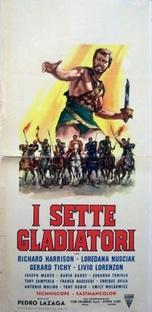 Os Sete Gladiadores - Poster / Capa / Cartaz - Oficial 5