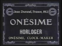 Onésime horloger - Poster / Capa / Cartaz - Oficial 1