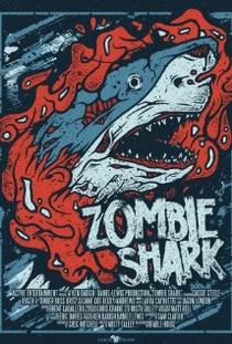 Tubarões Zumbis - Poster / Capa / Cartaz - Oficial 1