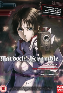 Mardock Scramble: The Third Exhaust - Poster / Capa / Cartaz - Oficial 2