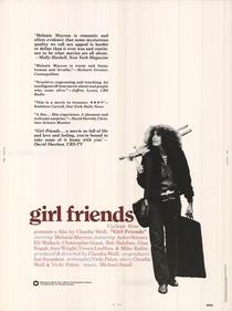 Girlfriends - Poster / Capa / Cartaz - Oficial 1