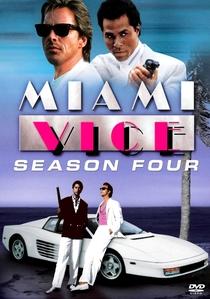 Miami Vice (4ª Temporada) - Poster / Capa / Cartaz - Oficial 1