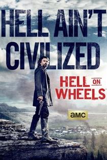 Hell on Wheels (4ª Temporada)  - Poster / Capa / Cartaz - Oficial 1