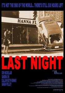 A Última Noite - Poster / Capa / Cartaz - Oficial 3