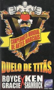 Campeonato Mundial de Artes Marciais V - Duelo de Titãs - Poster / Capa / Cartaz - Oficial 1