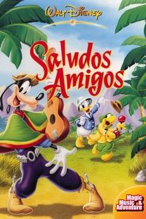 Alô Amigos - Poster / Capa / Cartaz - Oficial 3