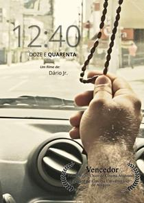 12:40 - Poster / Capa / Cartaz - Oficial 1