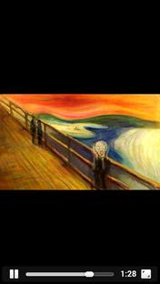 Edvard Munch The Scream Animation - Poster / Capa / Cartaz - Oficial 1