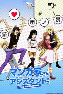 Mangaka-san to Assistant-san to The Animation Specials - Poster / Capa / Cartaz - Oficial 1