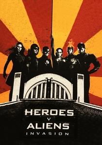 Heróis vs Aliens - Poster / Capa / Cartaz - Oficial 5
