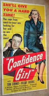 Confidence Girl - Poster / Capa / Cartaz - Oficial 2