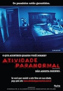 Atividade Paranormal - Poster / Capa / Cartaz - Oficial 3