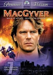 MacGyver - Profissão: Perigo (7ª Temporada) - Poster / Capa / Cartaz - Oficial 1