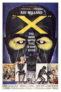 O Homem dos Olhos de Raio-X - Poster / Capa / Cartaz - Oficial 1