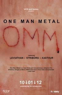 One Man Metal - Poster / Capa / Cartaz - Oficial 1