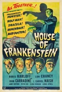 A Casa de Frankenstein - Poster / Capa / Cartaz - Oficial 1
