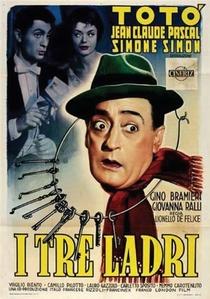I tre ladri - Poster / Capa / Cartaz - Oficial 1