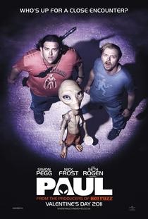 Paul: O Alien Fugitivo - Poster / Capa / Cartaz - Oficial 1