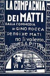 La Compagnia dei Matti - Poster / Capa / Cartaz - Oficial 1