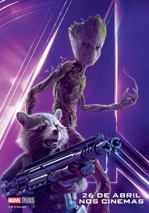 Vingadores: Guerra Infinita - Poster / Capa / Cartaz - Oficial 19