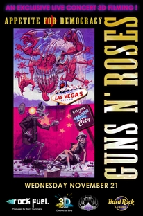 Guns N' Roses - Appetite For Democracy  Live From The Hard Rock Casino – Las Vegas - Poster / Capa / Cartaz - Oficial 1