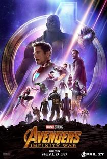 Vingadores: Guerra Infinita - Poster / Capa / Cartaz - Oficial 3