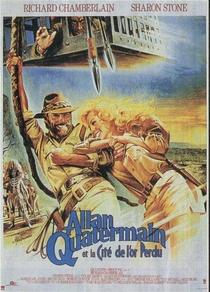Allan Quatermain e a Cidade do Ouro Perdido - Poster / Capa / Cartaz - Oficial 3