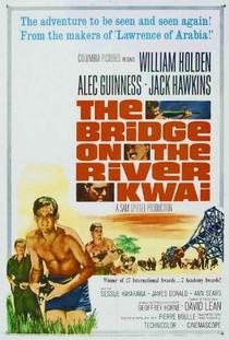 A Ponte do Rio Kwai - Poster / Capa / Cartaz - Oficial 9