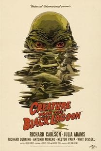 O Monstro da Lagoa Negra - Poster / Capa / Cartaz - Oficial 1