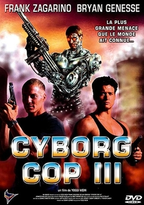 Cyborg Cop III - Resgate Espetacular - Poster / Capa / Cartaz - Oficial 1