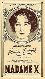 Madame X - Poster / Capa / Cartaz - Oficial 1