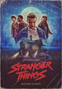 Stranger Things (1ª Temporada) - Poster / Capa / Cartaz - Oficial 9