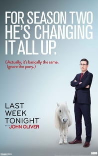 Last Week Tonight With John Oliver (2ª Temporada) - Poster / Capa / Cartaz - Oficial 1