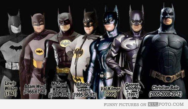 A Evolução do Batman no Cinema