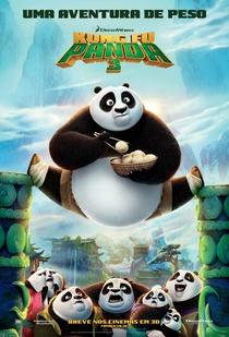 Kung Fu Panda 3 - Poster / Capa / Cartaz - Oficial 1