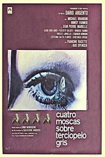 Quatro Moscas Sobre Veludo Cinza - Poster / Capa / Cartaz - Oficial 11